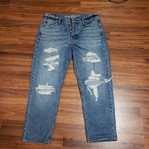 AE high rise jeans